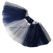 Girls to Plus Size Team Spirit Tutu NAVY GREY